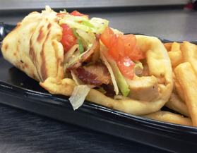 Picture of Chicken Flatbread Sandwich